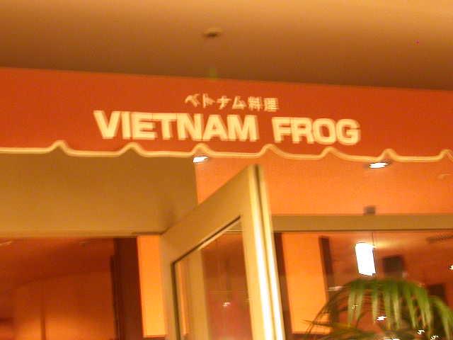ベトナムフロッグ