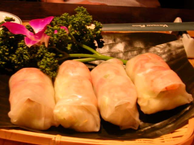 ベトナムブロック、ベトナム料理の生春巻き