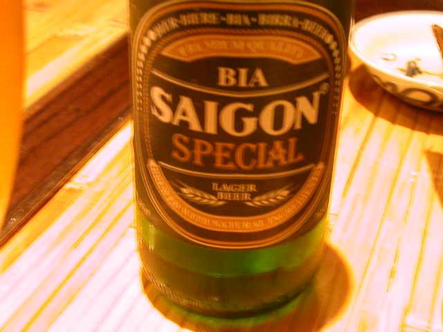ベトナムのビールのサイゴン。